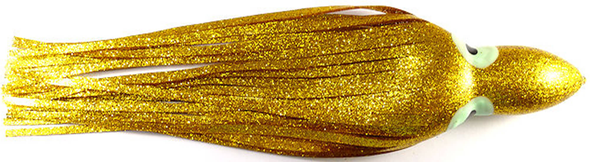Yo-Zuri Octopus Trolling Skirts - Gold Glitter