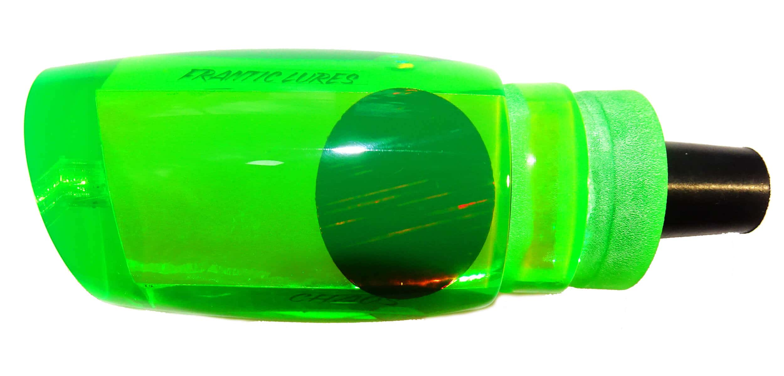 Frantic Lures - Chaos Series - Head - Fluoro Green