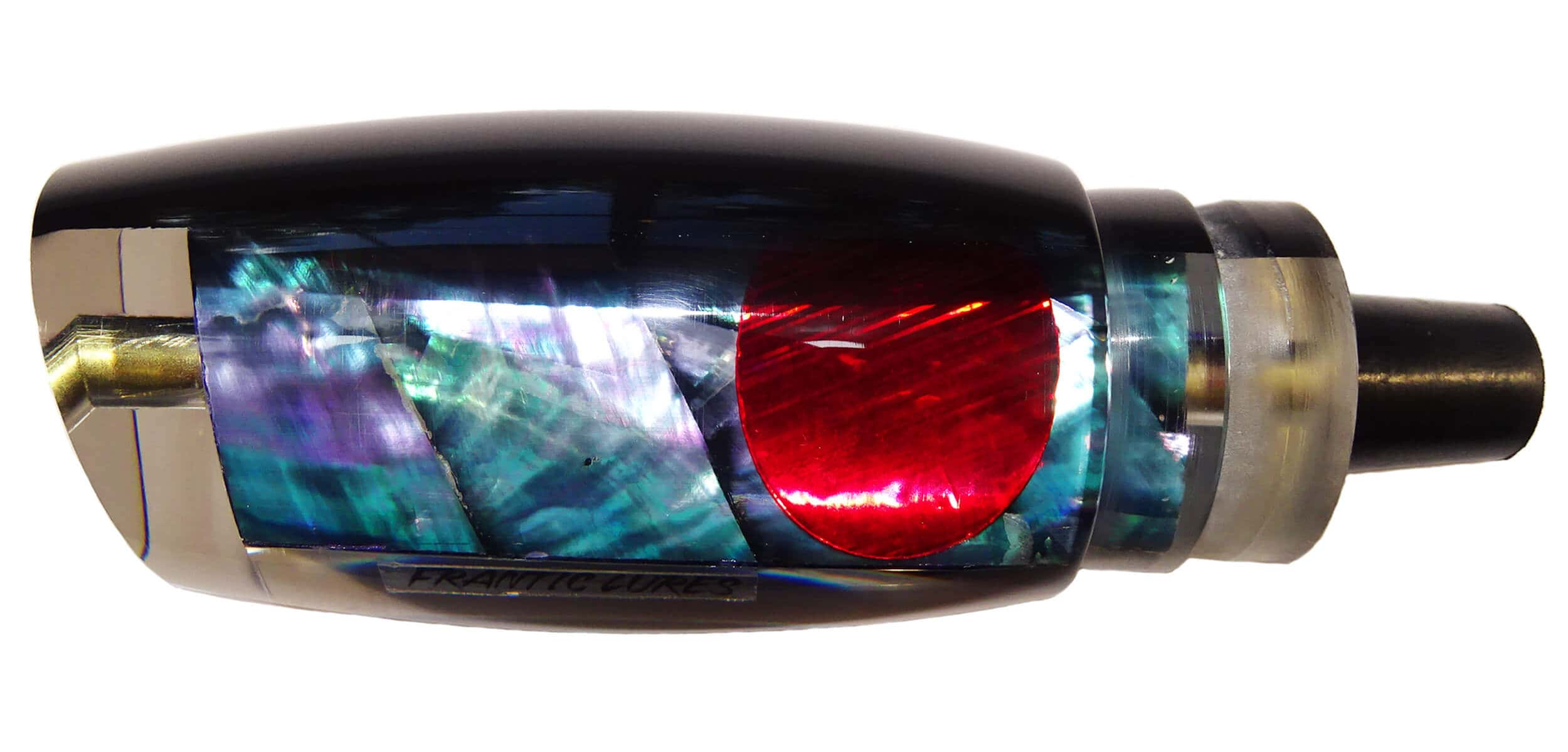 Frantic Lures - Havoc Series - Head - Black Top Clear Shell