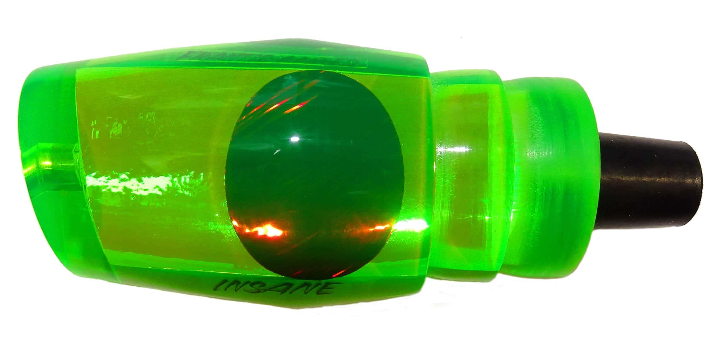 Frantic Lures - Insane Series - Head - Fluoro Green