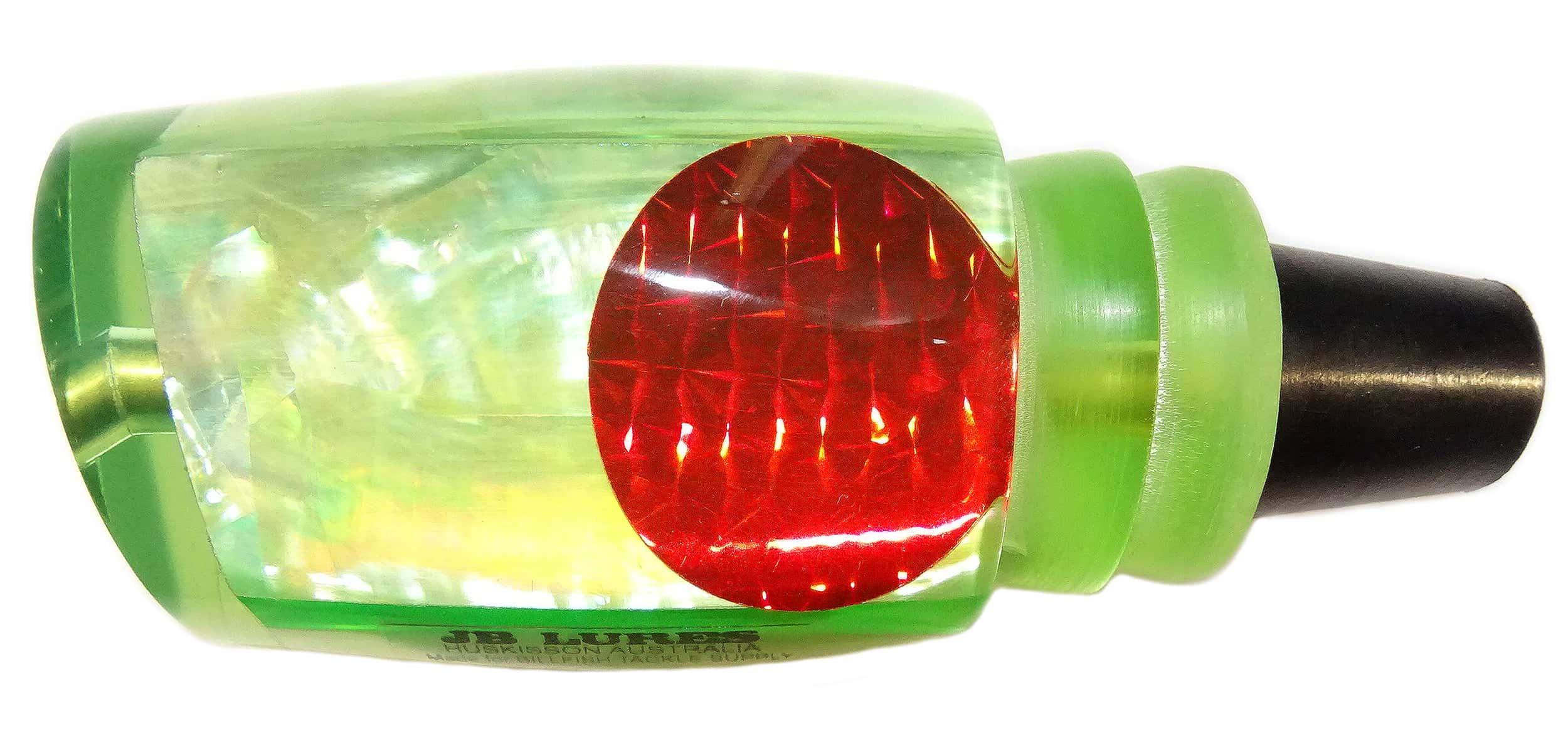 JB Lures - Chook Series - Head - Chartreuse Raw Agoya Shell