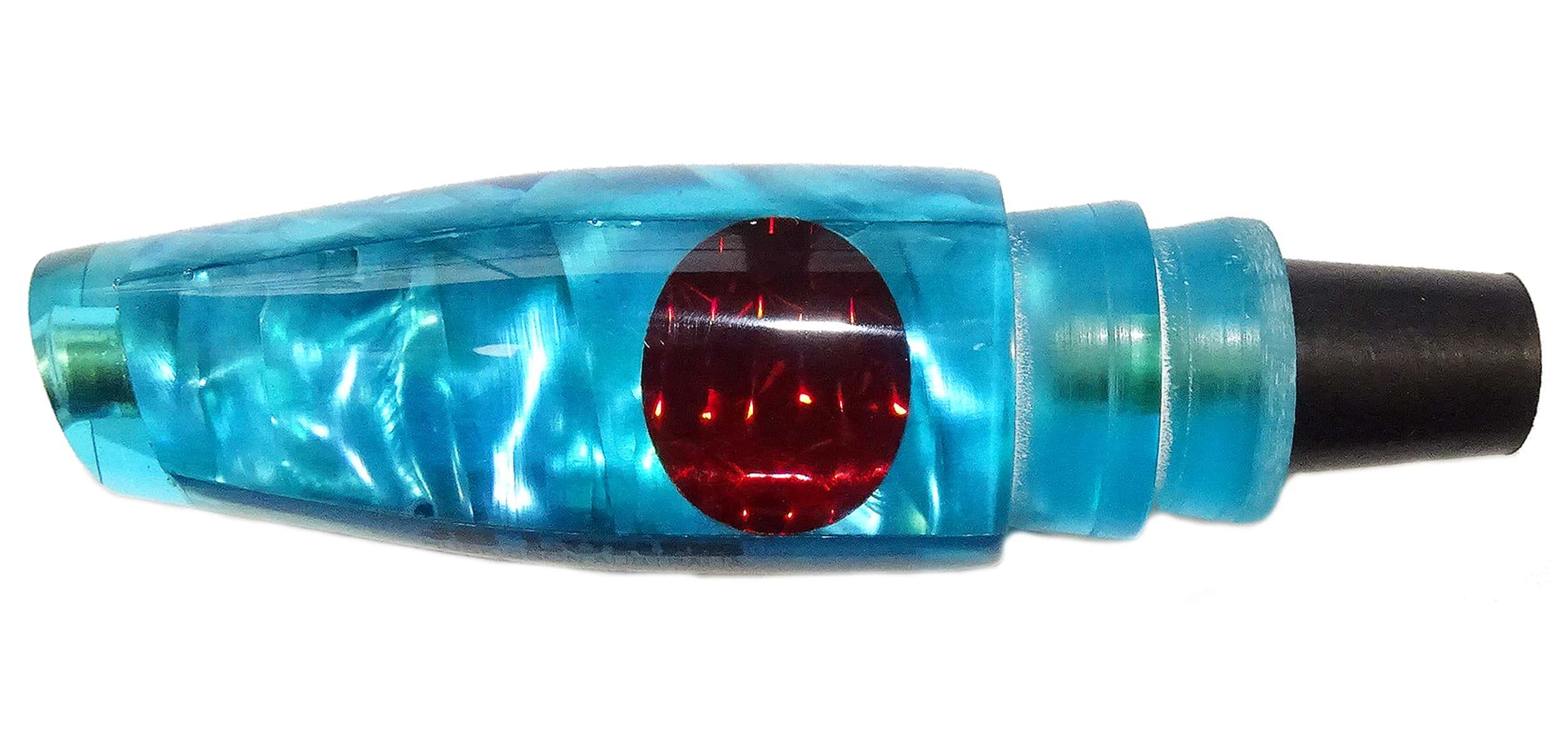 JB Lures - Pluto Series - Head - Fluoro Blue Silver Lip Shell