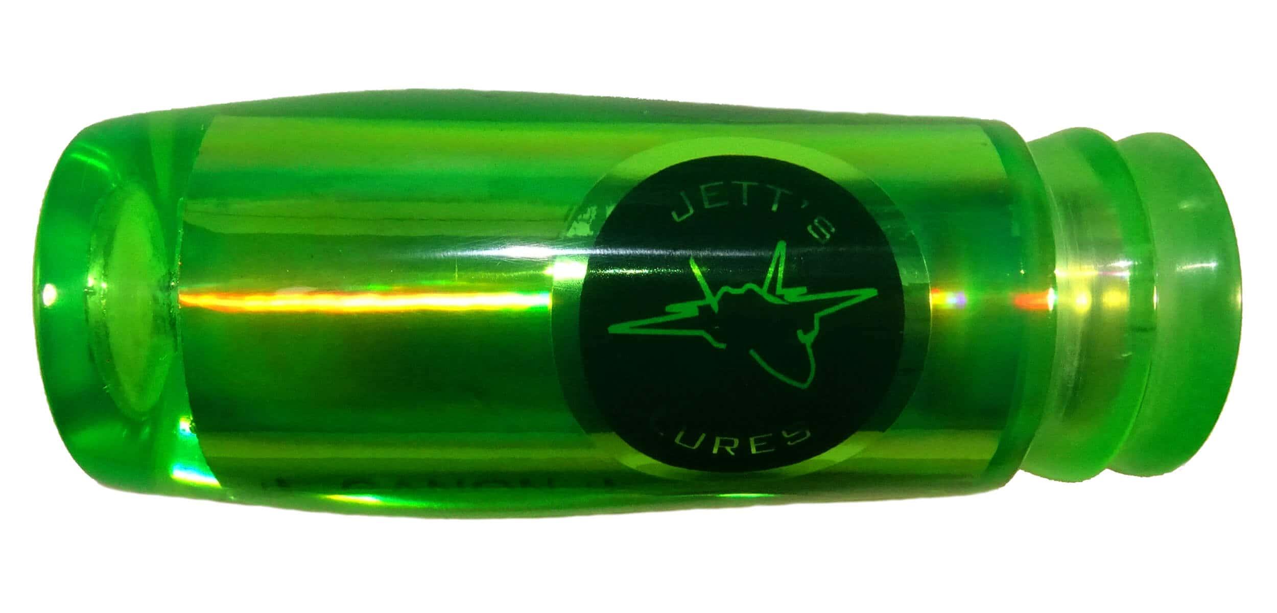 Jetts Lures - Canon Series - Head - Green Terror