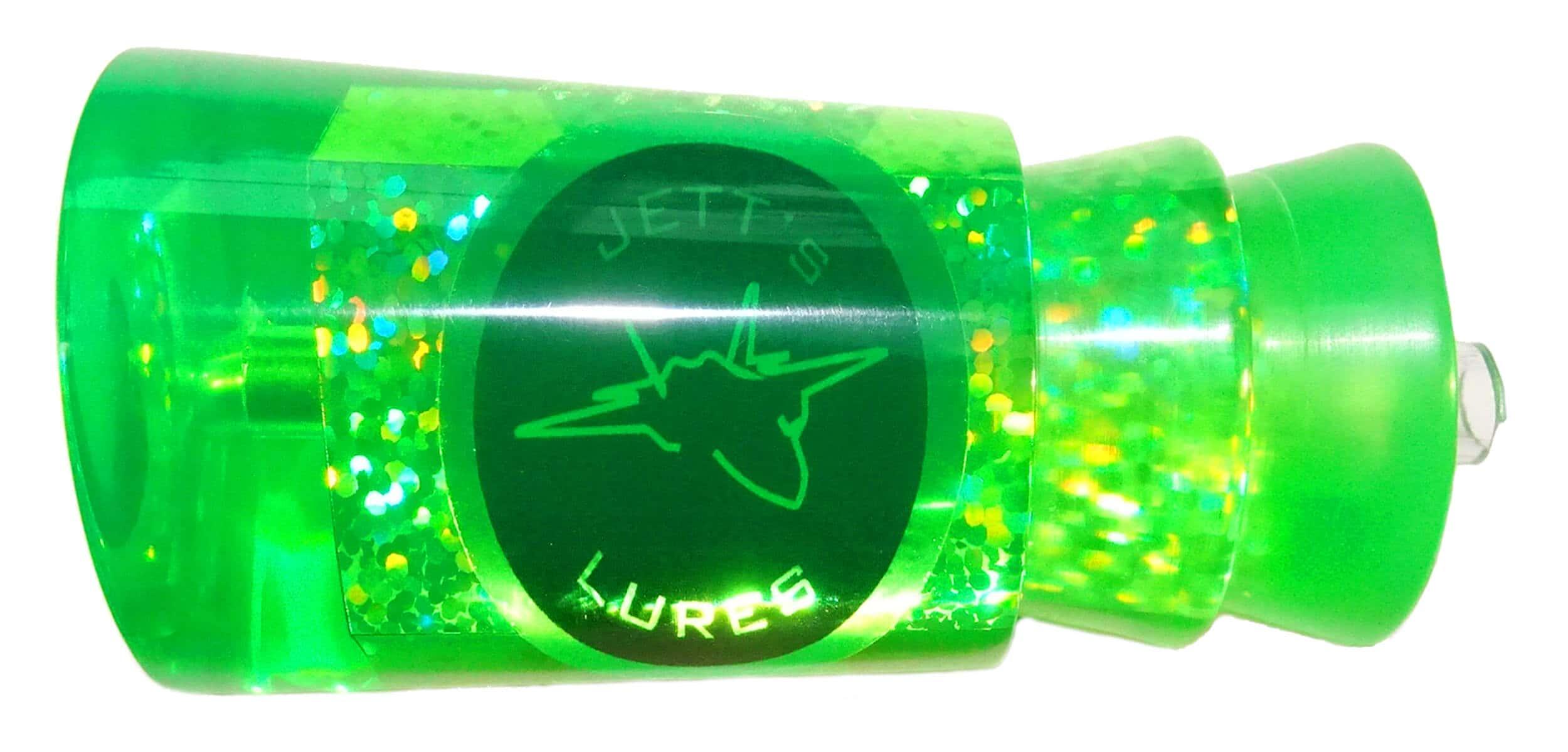 Jetts Lures - Insane Series - Head - Green Terror