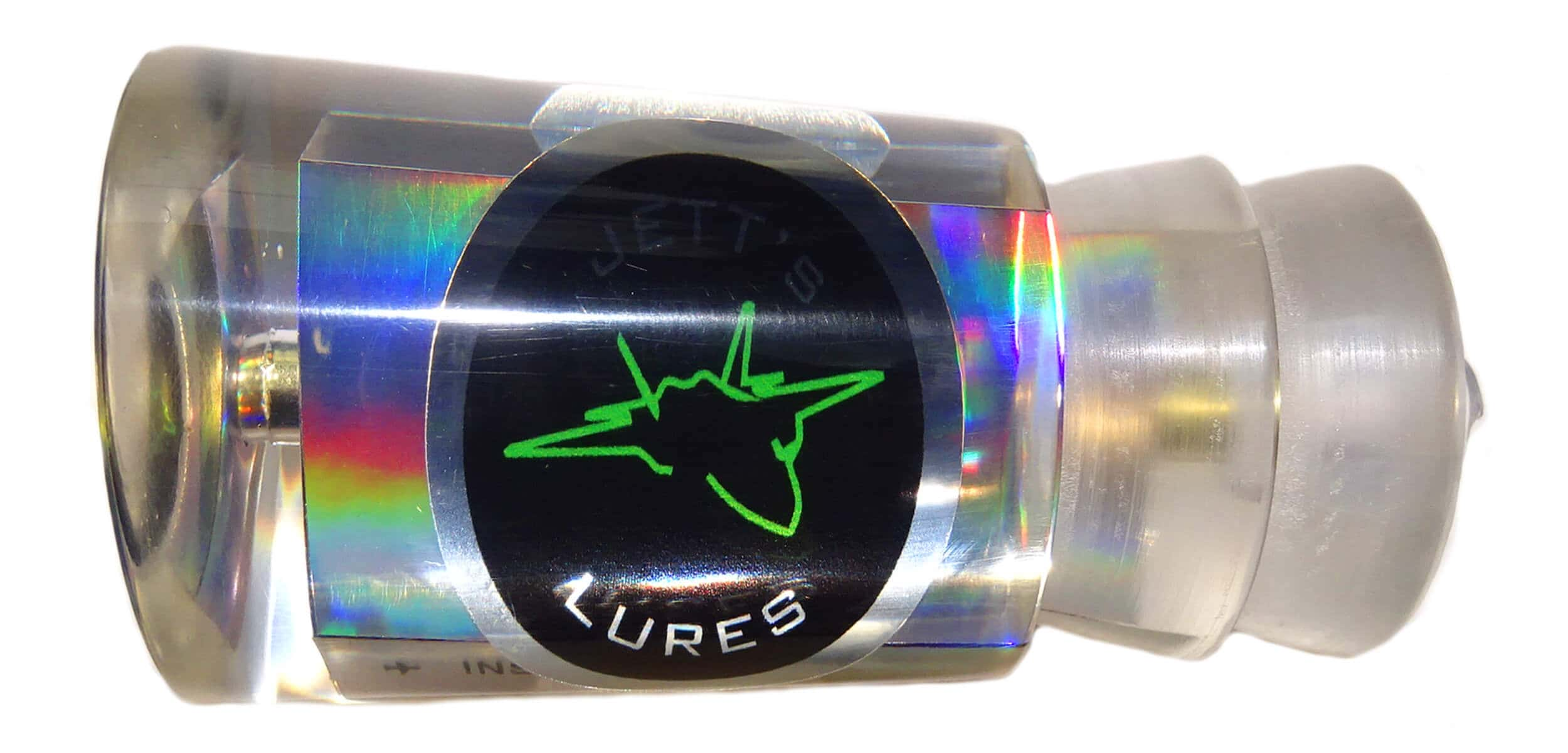 Jetts Lures - Insane Series - Head - Holographic Clear
