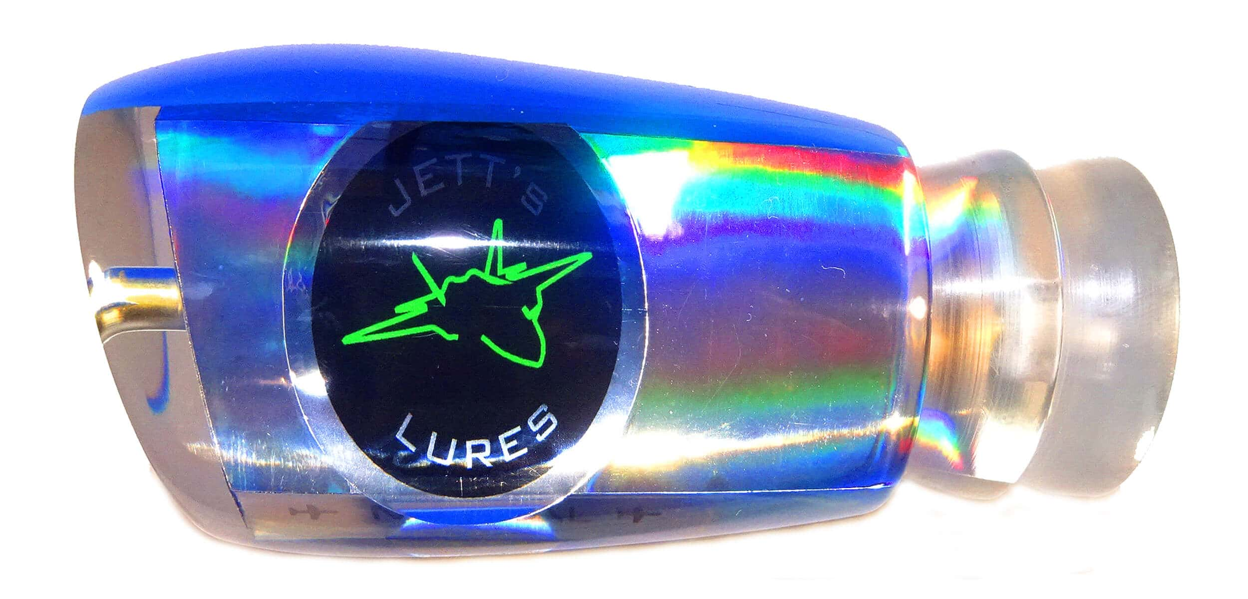 Jetts Lures - Mental Series - Head - Blue Top - Clear