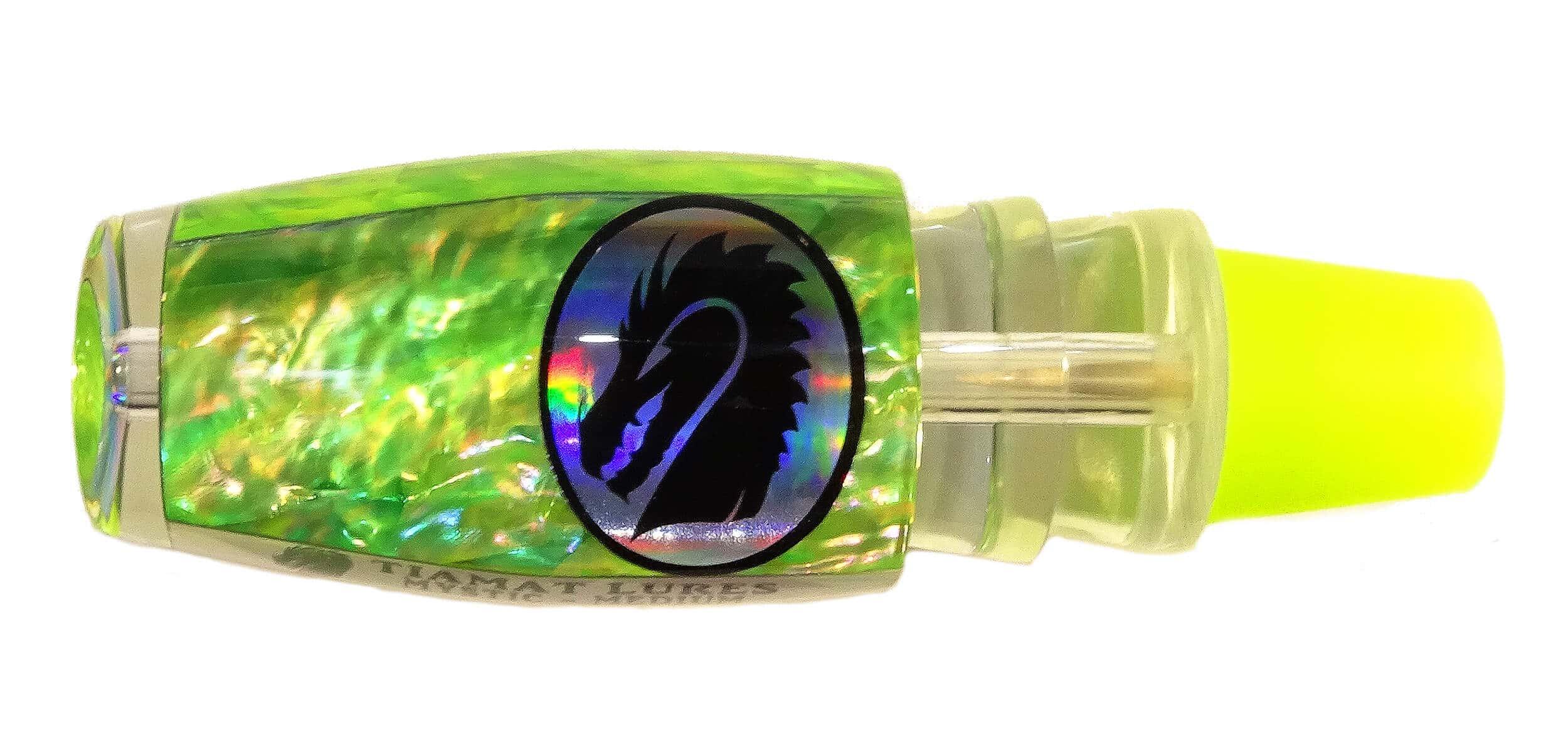 Tiamat Lures - Mystic Series - Head - Japanese Chartreuse Awabi Shell