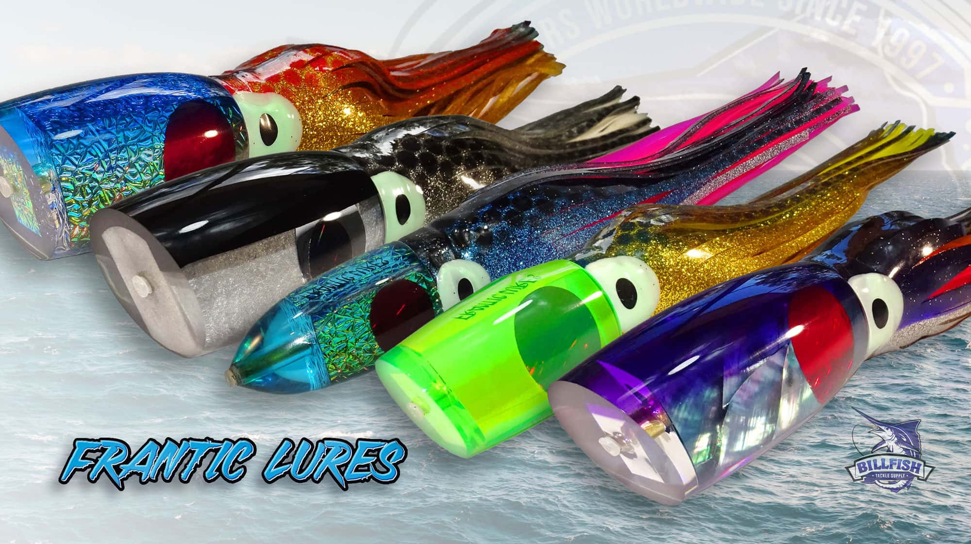 Best trolling lures for marlin -Frantic Lures - Chaos
