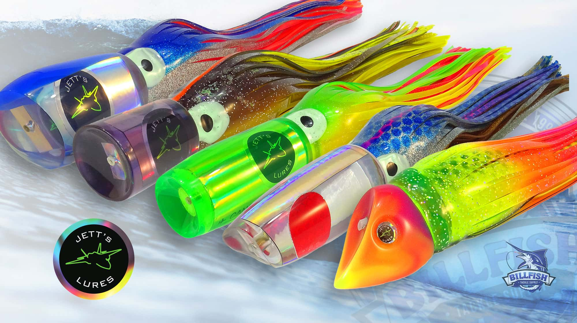 Jetts Lures - Best Marlin and Tuna Lures - Billfish Tackle Supply